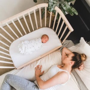 Sidebed e culla Babybay: notti serene con il co-sleeping