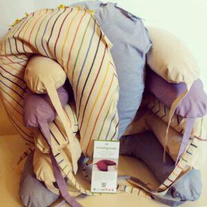 Cuscino allattamento Ecoartigianato