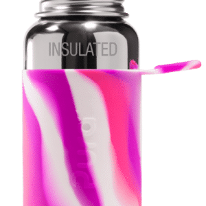 Bottiglia termica sport Pura 475 ml Rosa spirale