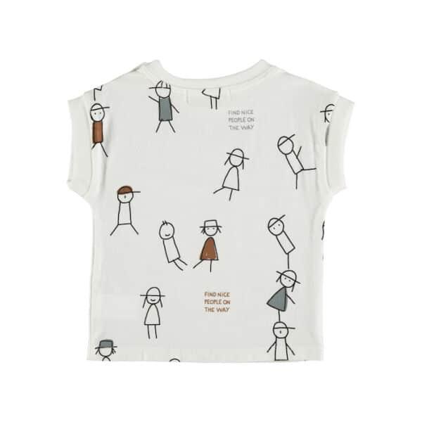 T-shirt Nice People Babyclic