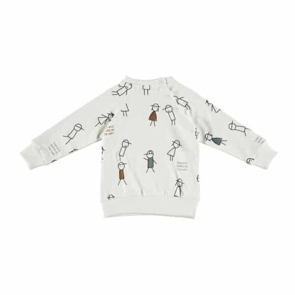 Sweatshirt Nice People Babyclic