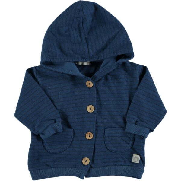 Hooded Jacket Boat Blue Beans