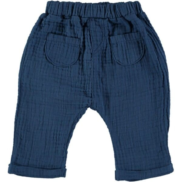 Pants with pockets Waves Blue Beans