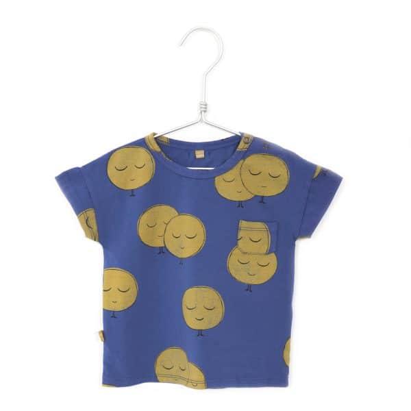 T-shirt Moons Indigo Blue Lotiekids
