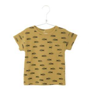 T-shirt Fishes Sun Yellow Lotiekids