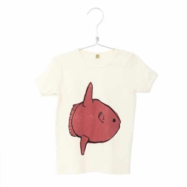 T-shirt Moonfish Off White Lotiekids