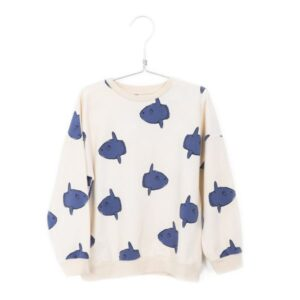 Sweatshirt Moonfish Off White Lotiekids