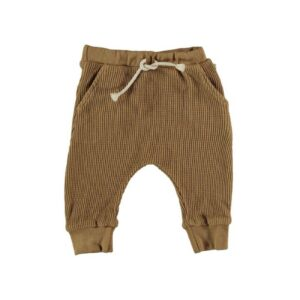 Organic cotton waffled pants Tim My Little Cozmo
