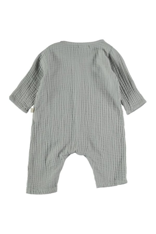Organic cotton gauze jumpsuit Noah My Little Cozmo