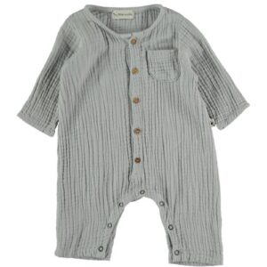 Organic cotton gauze jumpsuit Noah My Little Cozmo