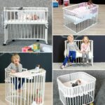 lettino side bed babybay