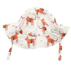 Cappellino in Mussola di Cotone Tigers Angel Dear