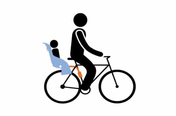Seggiolino Bici Posteriore Yepp Maxi Seat Ocean Thule