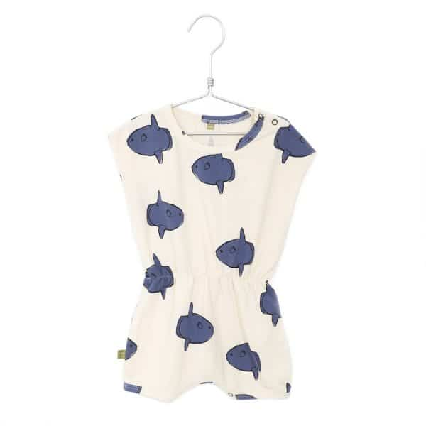 Playsuit Moonfishes Off White Lotiekids
