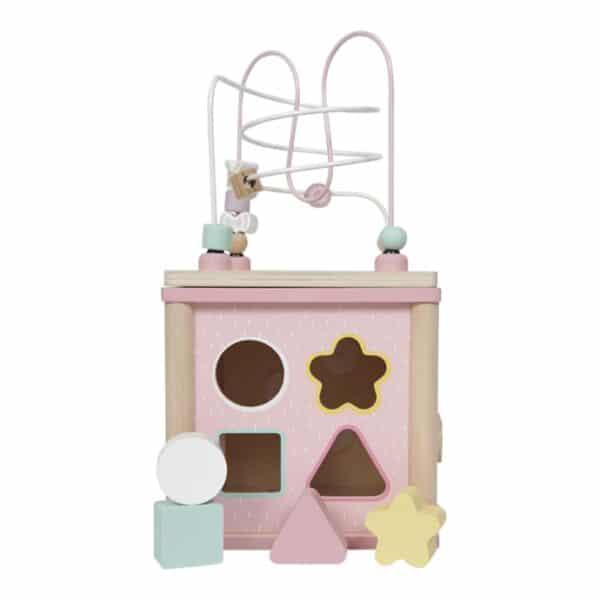 Cubo multiattività pink Activity Cube Little Dutch