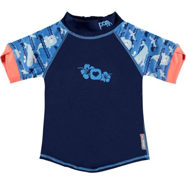 Maglietta Mare Shirt UV Balena Close