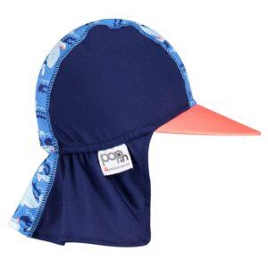Cappellino Anti-UV Balena Close