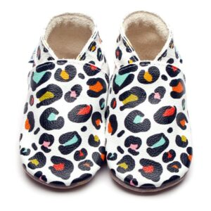 Babucce Wildthing Print Inch Blue