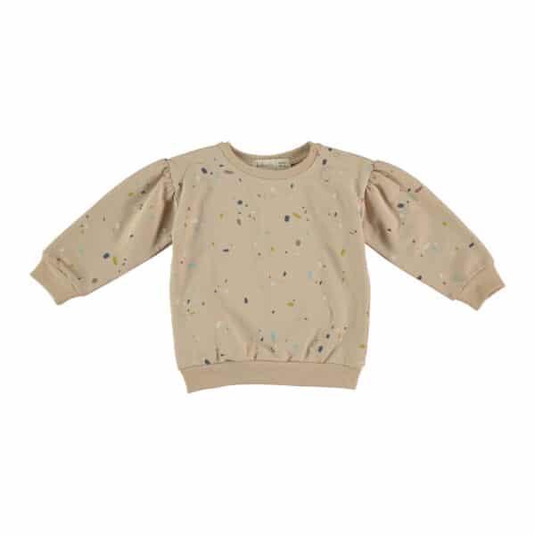 Sweatshirt Confetti Pale Pink Babyclic