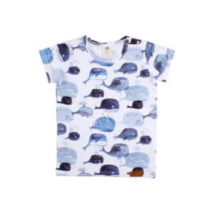 Tshirt Baby Whales Walkiddy