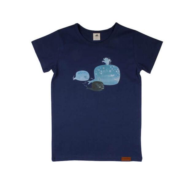 Tshirt Baby Whales BI Walkiddy