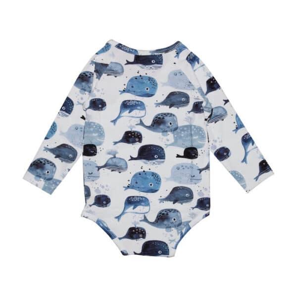 Wrap Body Baby Whales Walkiddy