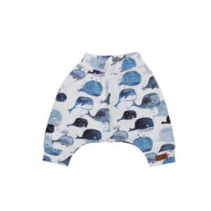 Baggy Shorts Baby Whales Walkiddy