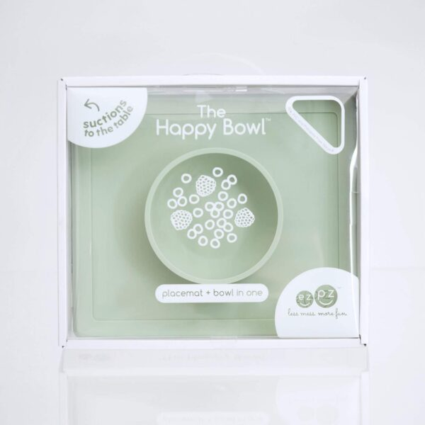 Piatto in Silicone Happy Bowl Salvia EzPz