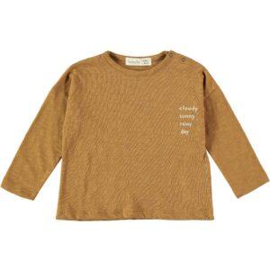 Tshirt Sunny Cloudy Curcuma