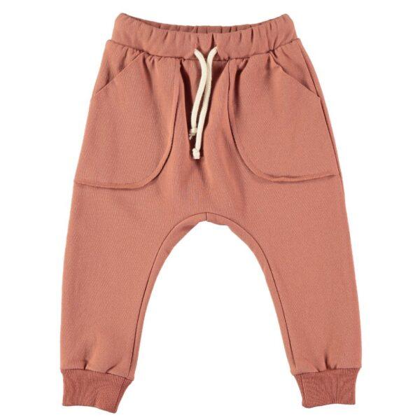 Pantaloni Terracotta