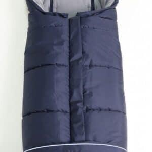 Sacco Passeggino Pooly Thermo Fleece Navy Kaiser