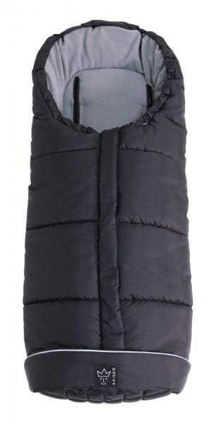 Sacco Passeggino Pooly Thermo Fleece Black Kaiser