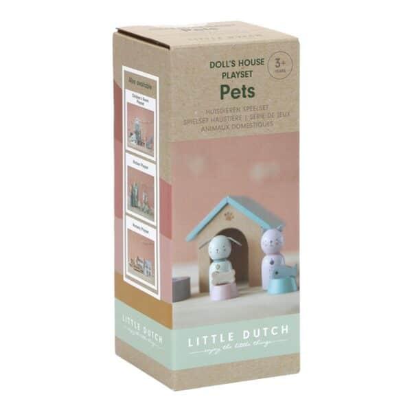 Casa delle Bambole Doll Playset Pets Little Dutch