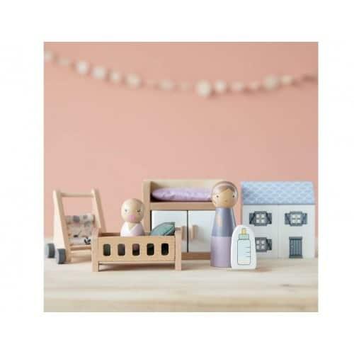 Casa delle Bambole Doll Playset Nursery Little Dutch
