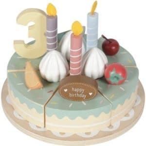 Wooden Birthday Cake Little Dutch