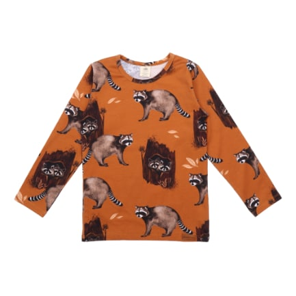 Tshirt Curious Racoons Walkiddy