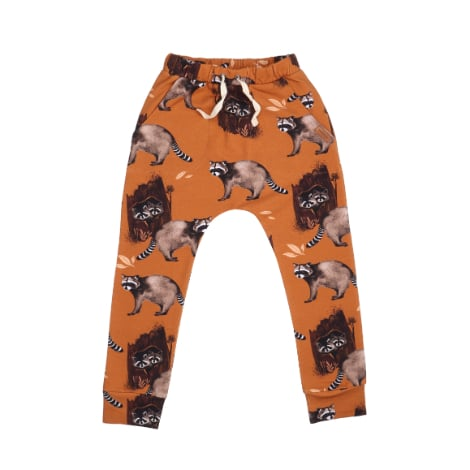 Pants Curious Racoons Walkiddy