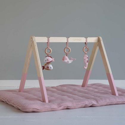 palestrina legno ocean pink Little Dutch