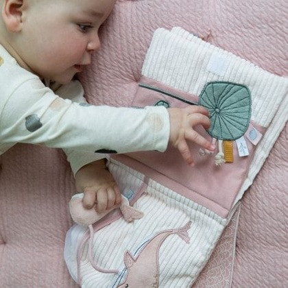 Soft Activity Book Pink Little Dutch