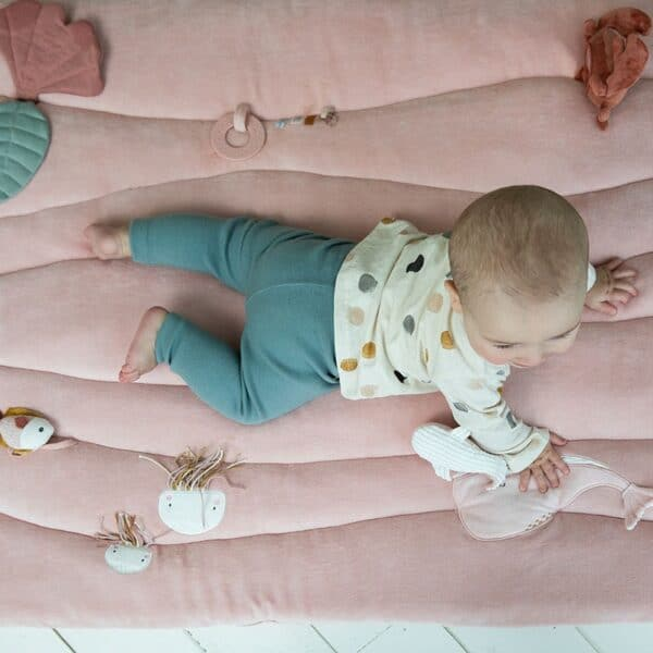 Playpen mat Ocean Pink Little Dutch