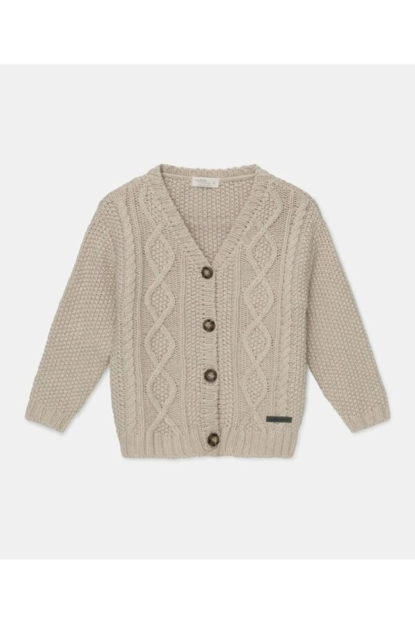 Cable-Knit Cardigan Betty My Little Cozmo