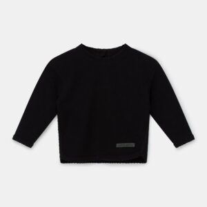 Knit Baby Sweater Fionn Black My Little Cozmo