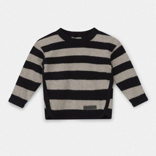Knit Sweater Fionn Black Riga My Little Cozmo