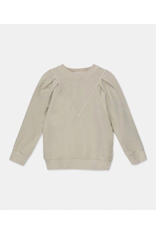 Organic Puff-Sleeves Sweatshirt Kiss My Little Cozmo