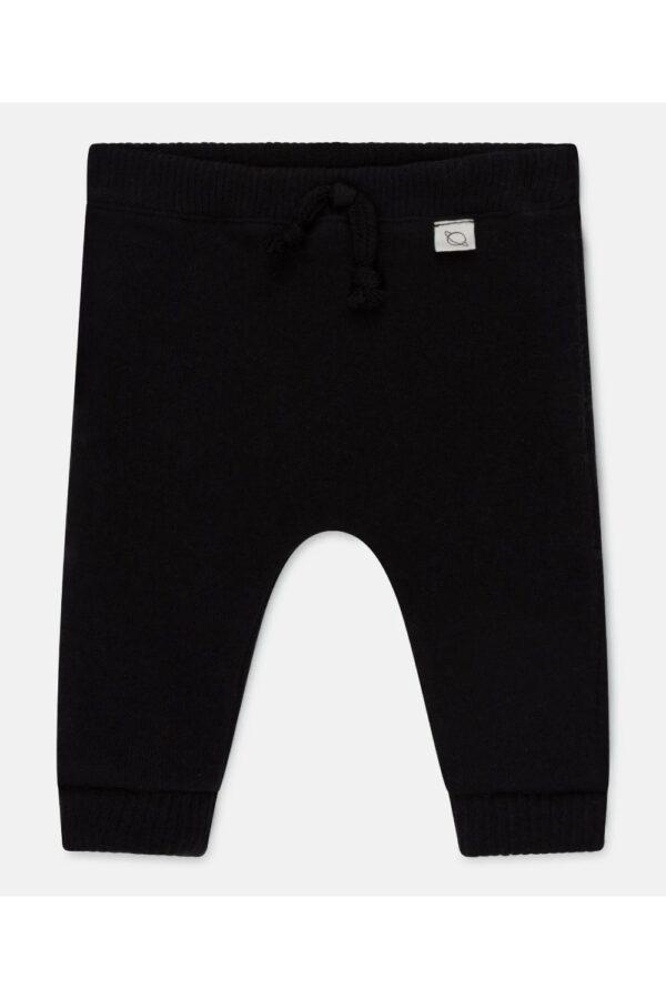 Knit Baby Pants Rune Black My Little Cozmo