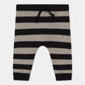 Knit Baby Pants Rune Black Riga My Little Cozmo
