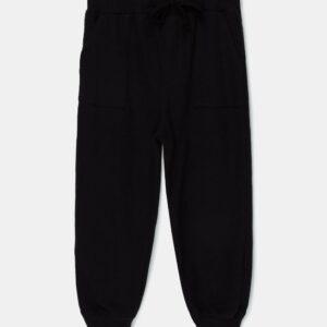 Knit Pants Will Black My Little Cozmo