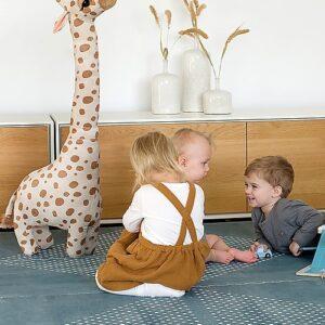 Tappeto Gioco Prettier Playmats Earth Verde Acqua Toddlekind